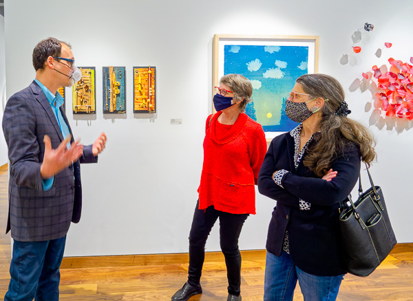 Photo of art gallery tour
